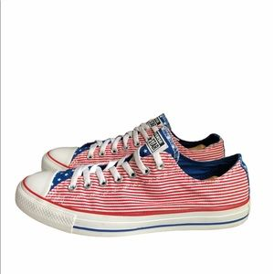 Converse American Flag Chuck Taylor Shoes 10